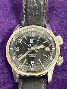 RARE montre de plongée automatic SUPER COMPRESSOR ELGÉ vintage 1960