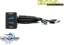DNA TOYUSB03 USB Adaptor Lead to Suit Toyota Vehicles - Small