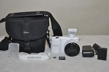 Samsung NX2000 20.3MP  (White) w/20-50mm II i-Function Lens + Extras!!
