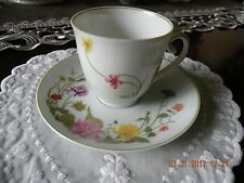 Denby Bone China Demitasse Cup and Saucer - Portugal