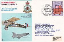 GB 1974 RAF 25rd aniversario de la OTAN escuadrón 19 Cubierta Conmemorativa