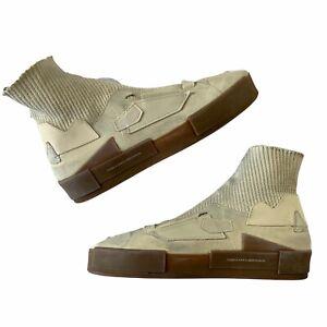 RARE Puma X Han Kjobenhavn Court Platform Sneaker (Birch Gum) Size 12