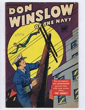 Don Winslow of the Navy #50 Fawcett Pub 1947