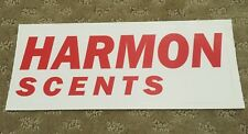 Harmon Scents Official Decal Stickers 8x3