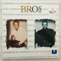 BROS - CHANGING FACES - VINYL LP RECORD