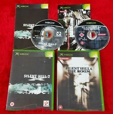 Origine Xbox Silent Hill Jeux x2 2 inner fears + 4 CHAMBRE PAL UK versions