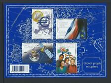 2008 FRANCE European Projects Souvenir Sheet MNH (Scott 3500)