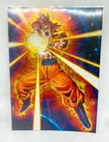 Dragon Ball Post Card Collection Vol.1 No.11 Son Gokou Super Saiyan God