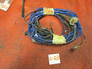 MG Midget 1500, Original Rear Wiring Harness, !!