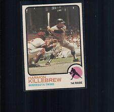 1973 Topps #170  Harmon Killebrew Minnesota Twins  NM 354