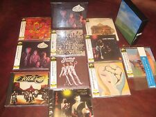 CREAM FRESH CREAM+BLIND FAITH+ LAYLA JAPAN 8 Replica OBI CD BOX SETS + BONUS CDS