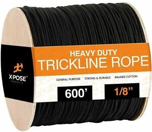 Trickline Rope - Theatrical Tie Line Heavy Duty Spool 80lb Tensile Strength