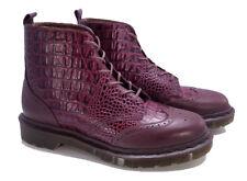 💥 Dr. Martens MIE England Dark Brown Beaumont Maracaibo Vita Shoe UK 7 US 9 💥