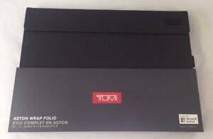 TUMI Aston Wrap Folio Case For Microsoft Surface Pro 3/4/5/6 Excellent Case