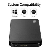 "Portable 2TB USB 3.0 2.5"" External Hard Drive Disk Ultra Slim For PC Laptop"