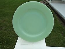 "FIRE KING JADE-ITE JADITE GREEN ""RESTAURANT"" PIE OR SALAD PLATES"