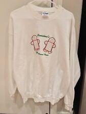 NEW Ugly Christmas Sweater Gingerbread Grandma Photo Insert Size XL