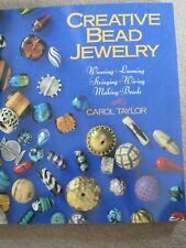 Creative Bead Jewelry Book - Carol Taylor