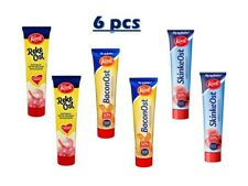 Kavli Soft Spread Cheese Tubes 6X175g Shrimp Bacon Ham Flavour Made in Norway