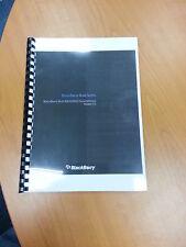BlackBerry Bold 9900 pleine imprimé manuel utilisateur guide instructions 369 pages A5