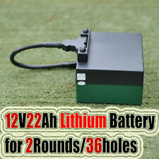 LiFeO4 36 holes 12V 22Ah Lithium BatteryFor Electric Golf Buggy Trolley
