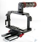 Kamerar Pico Cage für Blackmagic Pocket Camera mit 15mm LWS Rods & Top Handle