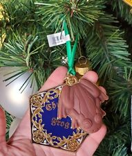 Harry Potter Holiday Ornament - 3D Chocolate Frog on Box Lid