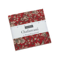 """CHAFARCANI~MODA FABRIC~42-5"""" SQUARES~CHARM PACK~FRENCH GENERAL~13850PP"""