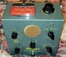Vintage Bundle Whites Alaskan Discriminator Metal Gold Detector 2 Coils N Mint