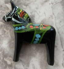 Sweden Black Dala Horse 3D Fridge Magnet Collectible Souvenir Gift