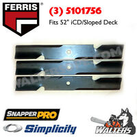 """(3) Genuine 5101756 Blades 