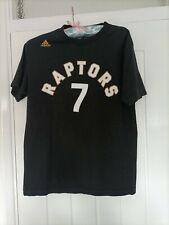 New listing TORONTO RAPTORS NBA BASKETBALL T-SHIRT MEDIUM SIZE 40 INCH (7 LOWRY) ADIDAS MAKE