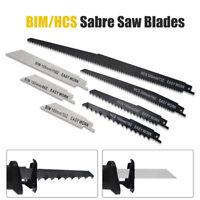 7PCS 56-300mm HCS/BIM lames de scie sabre récipro égoïne Pour bois métal