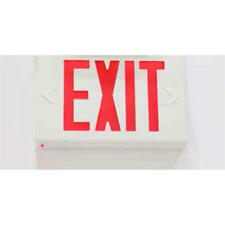 Emergency Exit Sign 3.8W LED Light in Red