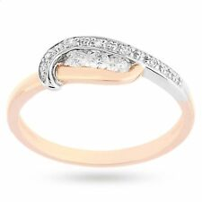 Classy 0.70 Cts Round Brilliant Cut Diamonds Anniversary Ring In Solid 14K Gold