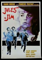 Manifesto Jules Y Jim Francois Truffaut Jeanne Moreau Oscar Werner Cine P02