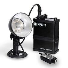 Godox 400W Li-ion Battery Portable Outdoor Studio Strobe Flash Light W/ Trigger