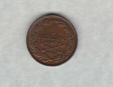 More details for 1840 sweden one third skilling in good extremely fine condition.