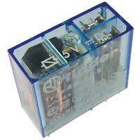 Finder 40.52.7.005.0000 Relais 5V DC 2xUM 8A 50R 250V AC Relay Print 855038