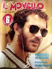Il Monello 28 1978 - Francesco De Gregori - Renato Pozzetto -  [G.144]