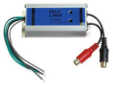 NEW Speaker Line Level Converter.Hook up Amplifier to Factory Stereo.Install amp
