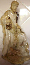"CERAMIC HOLY FAMILY GROUP 15"" HIGH  / NATIVITY /  JESUS MARY JOSEPH /CHRISTMAS"