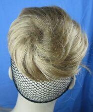 dark blonde fake pony tail bun elastic string hair piece extension scrunchie