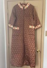 Vintage zip front House Coat