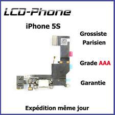 iPhone 5S - Connecteur de charge + Antenne GSM + Prise Jack + Micro - Blanc