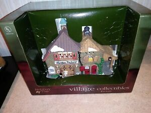 Holiday Time Village Collectibles Factory