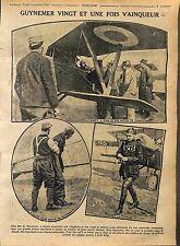 Capitaine Georges Guynemer Escadrille des Cigognes Avion SPAD S.VII WWI 1916