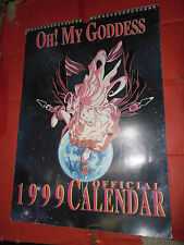 CALENDARIO DA COLLEZIONE OH! MY GODDESS ANNO 1999- con immagini inedite