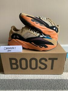 ADIDAS YEEZY BOOST 700 ENFLAME AMBER GW0297 SIZE 9.5