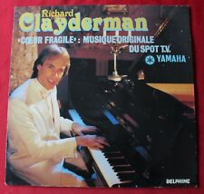 Richard Clayderman, coeur fragile, LP - 33 Tours